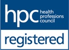 Registered with The Health Professionals Council