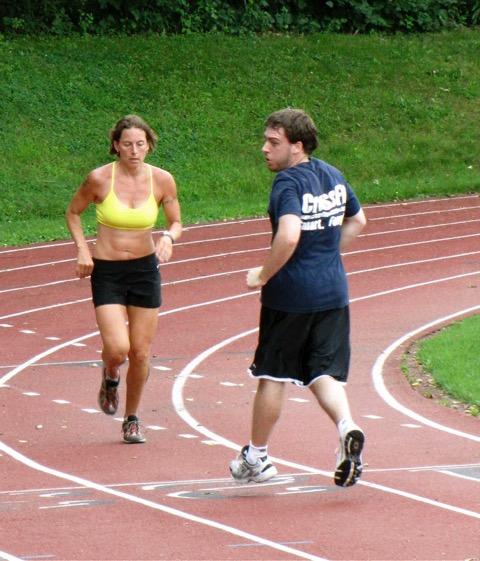 the benefits of running backwards