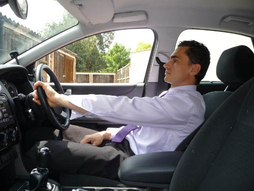 the postural effects of driving