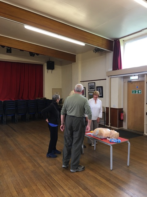 AED Training Course by Physio Leeds at Cookridge Village Hall